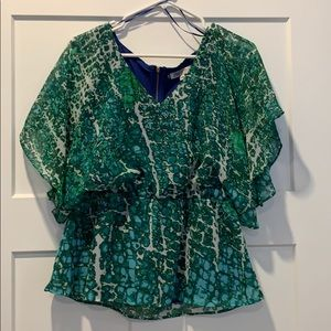 Jennifer Lopez blouse size medium